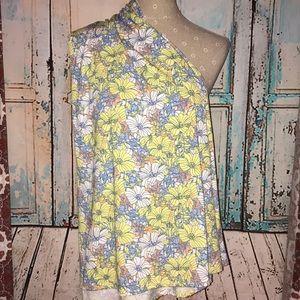 LULAROE~Floral Print MAXI A-line Skirt~S